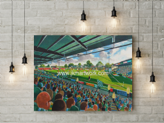 huish park  canvas a2 size